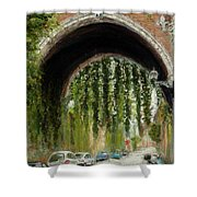 Rome Street Scene Shower Curtain