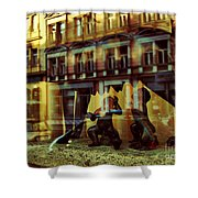 Romus And Romulus Shower Curtain