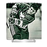 Ron Francis Shower Curtain