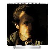 Ron Harpham Shower Curtain