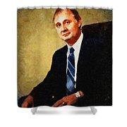 Ron Kolker Shower Curtain