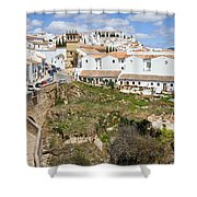 Ronda Old City In Spain Shower Curtain