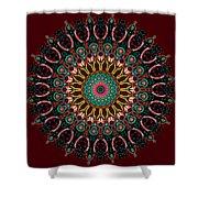 Ronnie Mandala Shower Curtain
