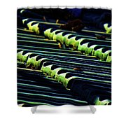 Roof Grounded Shower Curtain