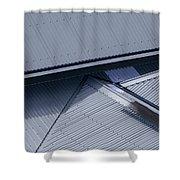 Roof Lines - Montague Island - Australia Shower Curtain