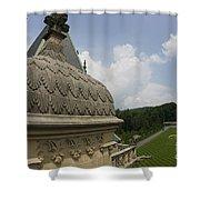 Roof Of Biltmore Estate Shower Curtain