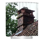 Roof Tops 2 Shower Curtain