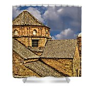Colonial Roof Shower Curtain