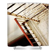 Roofs Port  Shower Curtain