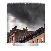 Rooftops Of New York Shower Curtain