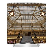 Rookery Building Lobby Shower Curtain