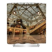 Rookery Building Main Lobby And Atrium Shower Curtain