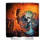 Room Fan Shower Curtain