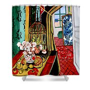 Room With A View After Matisse Shower Curtain
