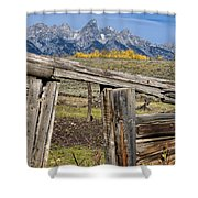 Room With A View Shower Curtain by Kathleen Bishop