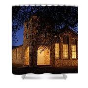 Roosevelt Church 2am-106055 Shower Curtain
