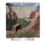 Roosevelt Dam Shower Curtain