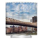 Roosevelt Island Tramway Shower Curtain