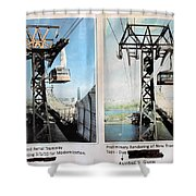 Roosevelt Island Tramway Shower Curtain