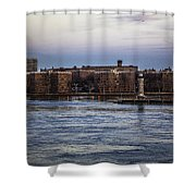 Roosevelt Island View - Nyc Shower Curtain