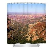 Roosevelt Point Shower Curtain