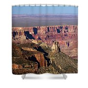 Roosevelt Point Landscape Shower Curtain
