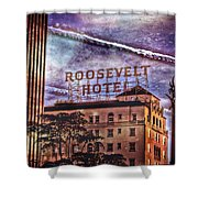 Roosevelt Retro Shower Curtain