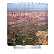 Roosevelt Sweeping View Shower Curtain