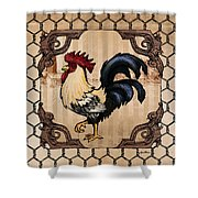 Rooster II Shower Curtain