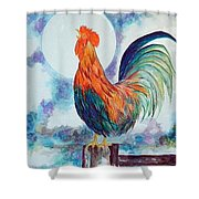 Rooster IIi Shower Curtain