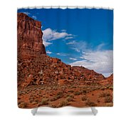 Rooster Rock Shower Curtain