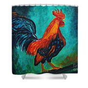 Rooster Tails Shower Curtain