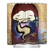 Root Of The Problem Shower Curtain
