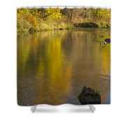Root River Autumn 2 Shower Curtain