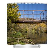Root River Autumn 3 Shower Curtain