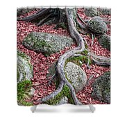 Roots Shower Curtain by Edward Fielding