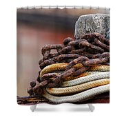 Rope And Chain Shower Curtain