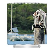 Rope And Knot Shower Curtain