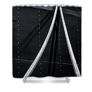Ropes Shower Curtain