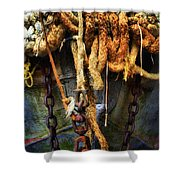 Ropes And Chains Smooth Shower Curtain