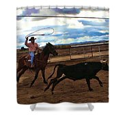 Roping Shower Curtain