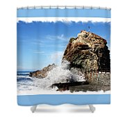 Roque De Las Bodegas Shower Curtain