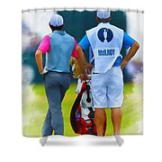 Rory Mcilroy  Shower Curtain