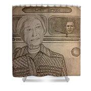 Rosa Parks Imagined Progress Shower Curtain