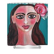 Rosa Shower Curtain