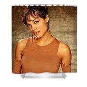 Rosario Dawson  Shower Curtain