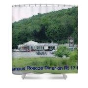 Roscoe Ny Diner Shower Curtain