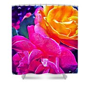 Rose 49 Shower Curtain