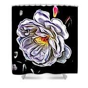 Rose An Petals  Shower Curtain