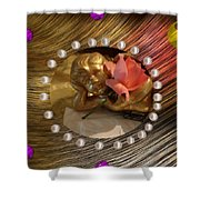 Rose Angel Shower Curtain